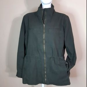 Gap | military style drawstring waist utility coat